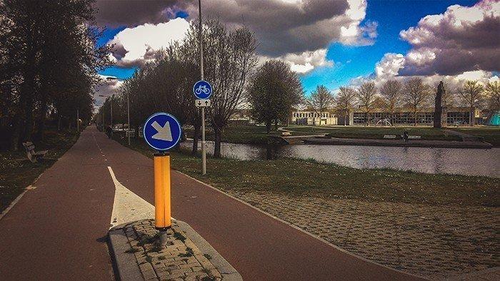 piste ciclabili olandesi canali polder arnhem paesi bassi
