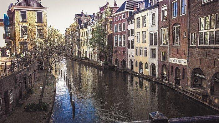 utrecht canali centro storico olanda ciclabili viaggiare in bicicletta paesi bassi