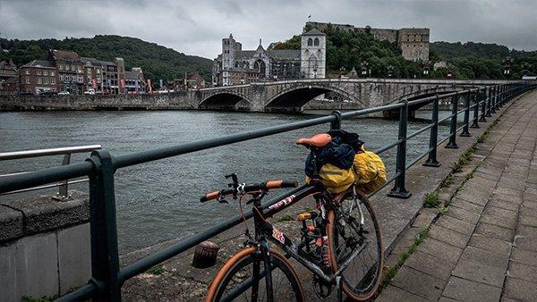 belgio cicloturismo huy viaggio in bicicletta ciclabile della mosa