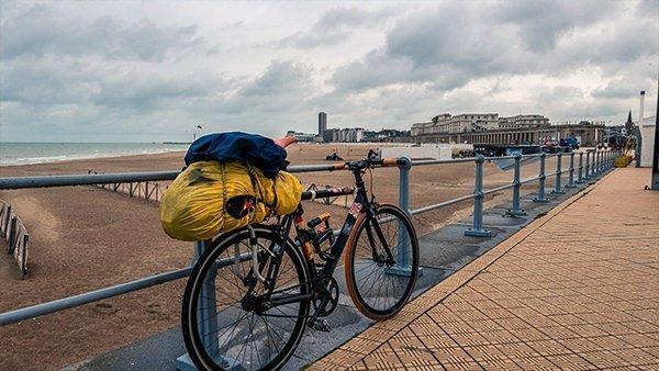 ciclabile belgio oostenda viaggio in bicicletta scatto fisso cicloturismo