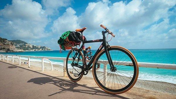 nizza ciclabile cicloturismo pista ciclabile viaggio in bicicletta francia