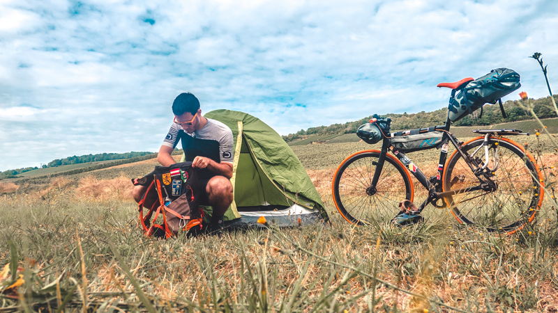 cicloturismo freecamping bicicletta bikepacking borse da viaggio