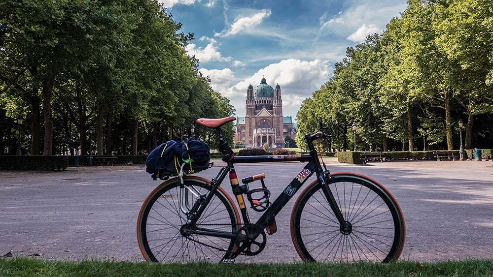 Bruxelles scatto fisso cicloturismo