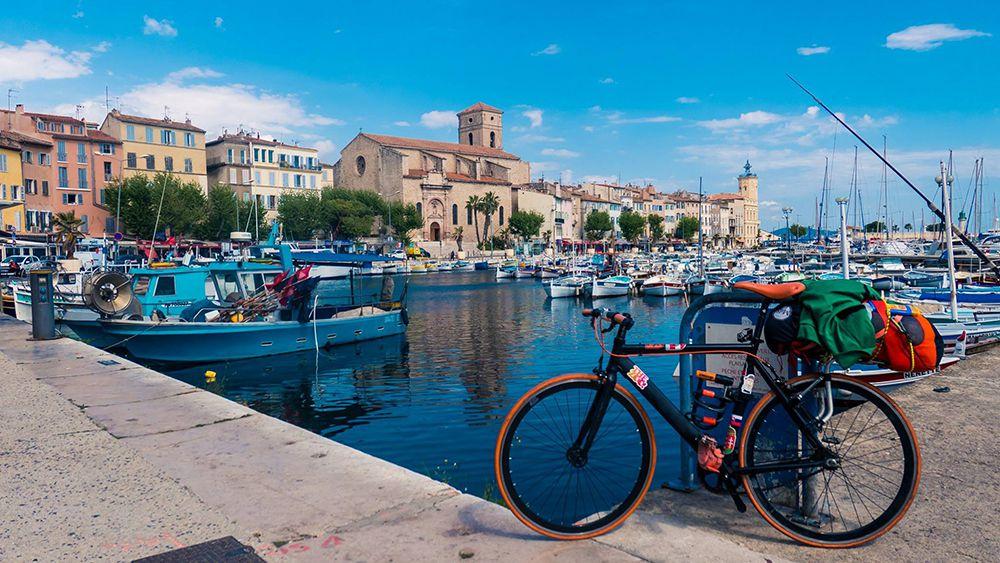la ciotat costa azzurra in bicicletta