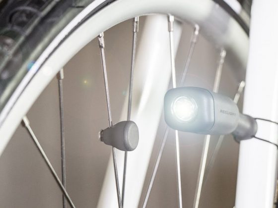 reelight cio luce ad induzione da bicicletta