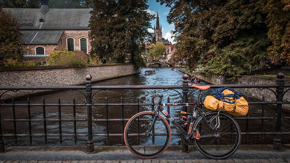 bruges belgio bicicletta cicloturismo
